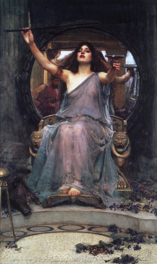 Stock Photo: 475-618 Circe Offering the Cup To Ulysses