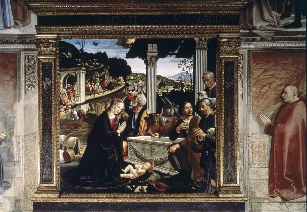 Stock Photo: 475-714 The Birth of Christ