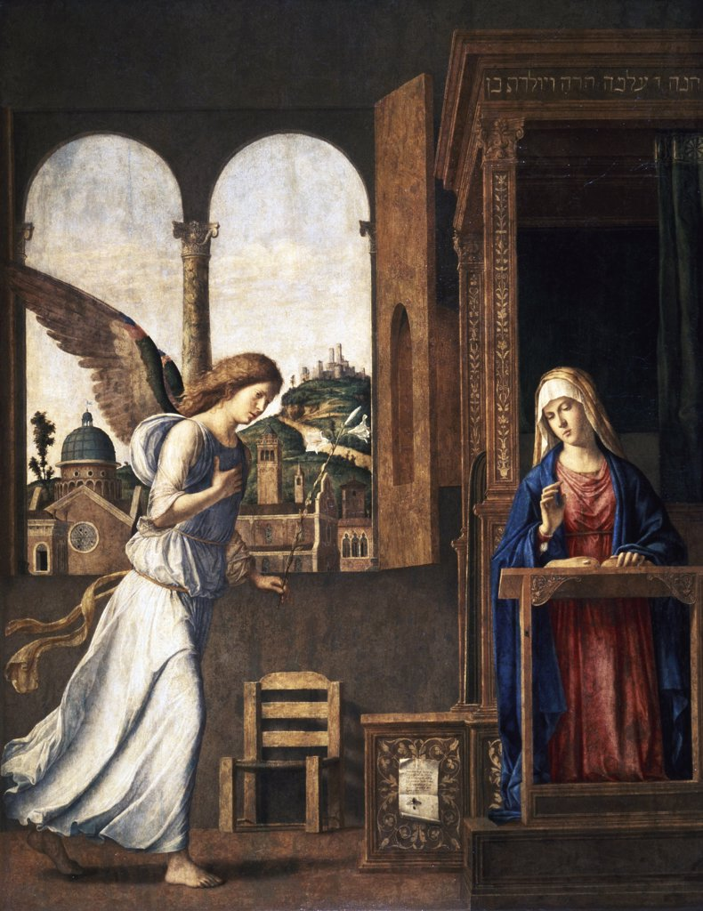 Stock Photo: 475-788 The Annunciation