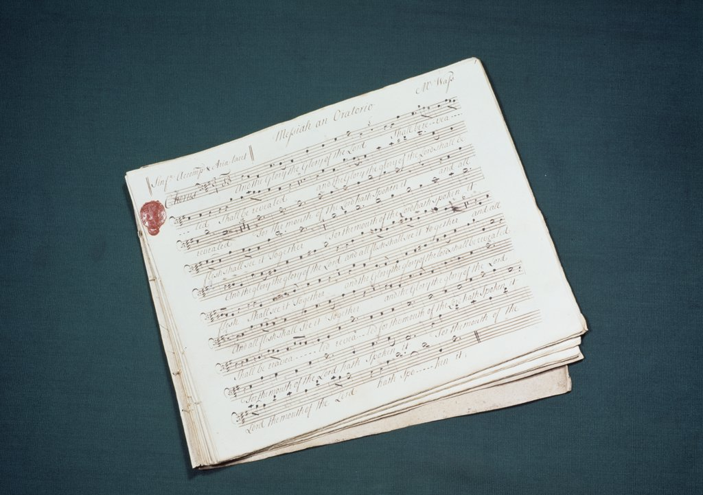 Stock Photo: 475-830 Messiah by Handel