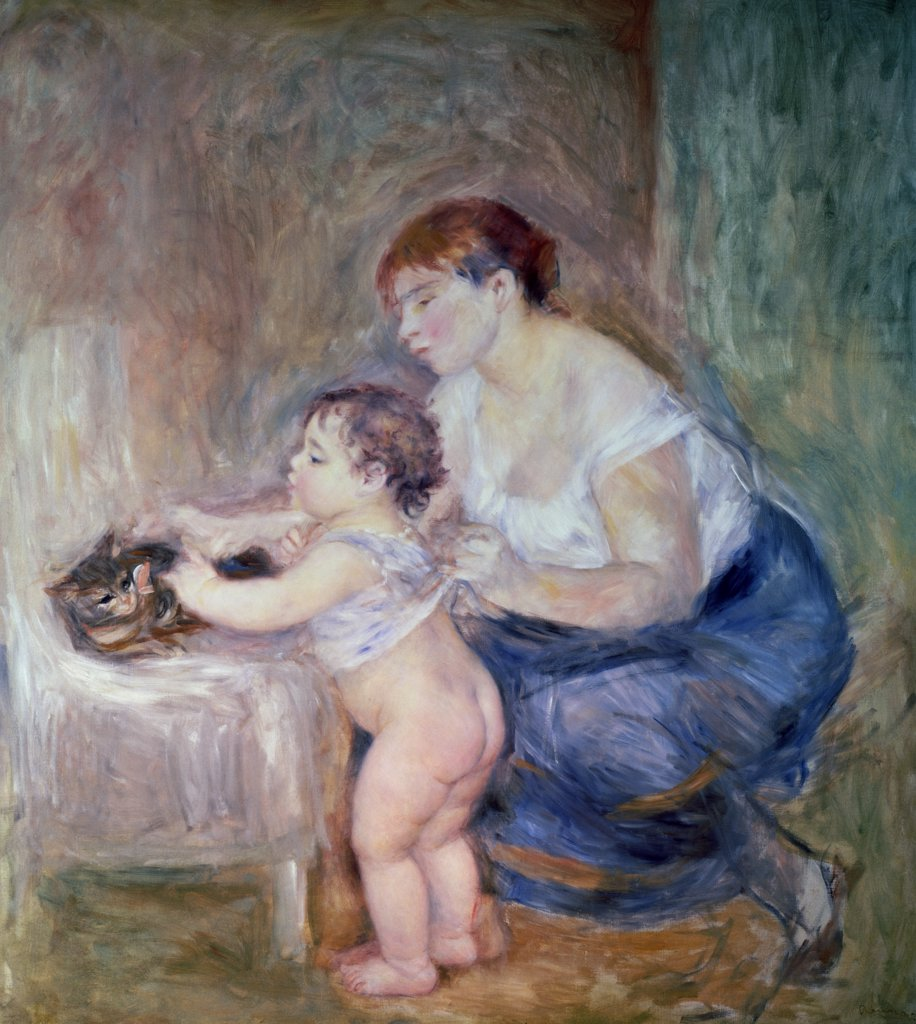 Stock Photo: 475-891 Mother and Child