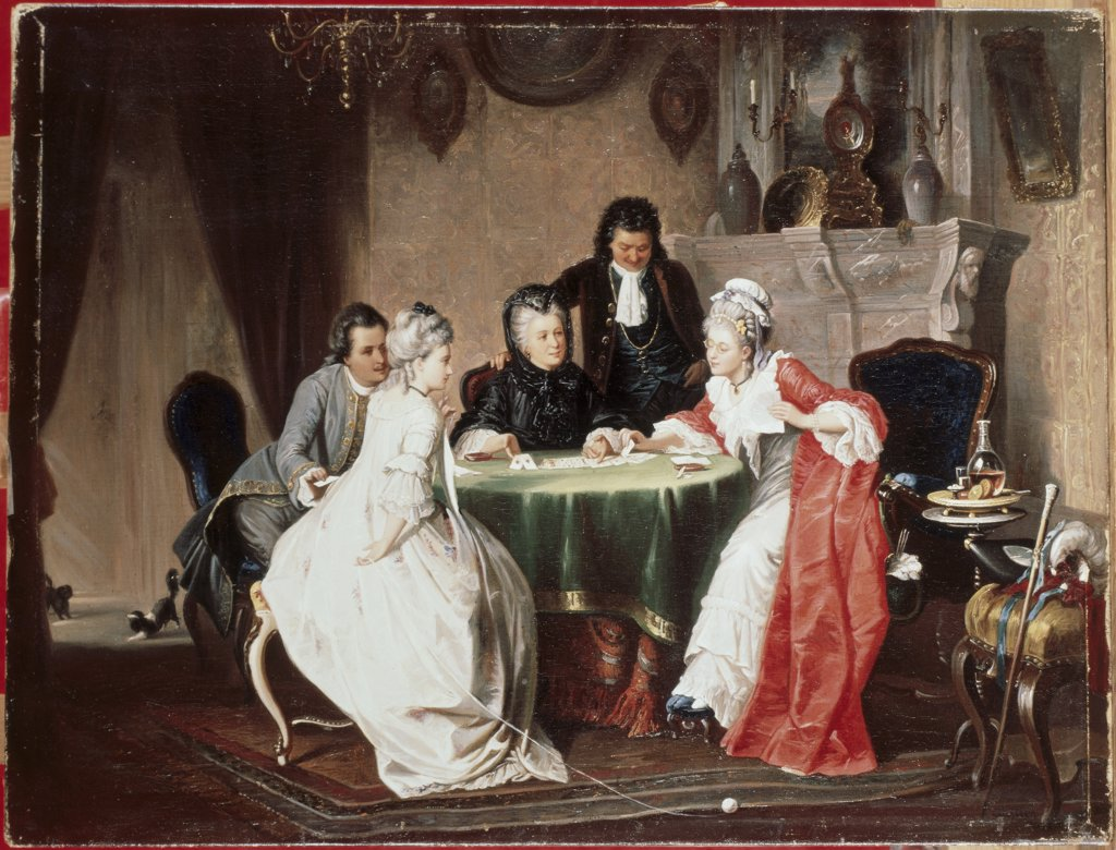 Stock Photo: 475-920 The Card Game 