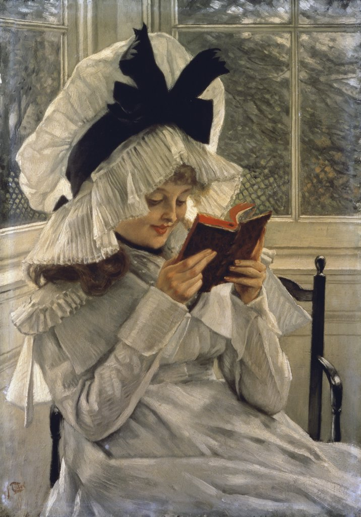 Stock Photo: 475-947 Reading a Book 
