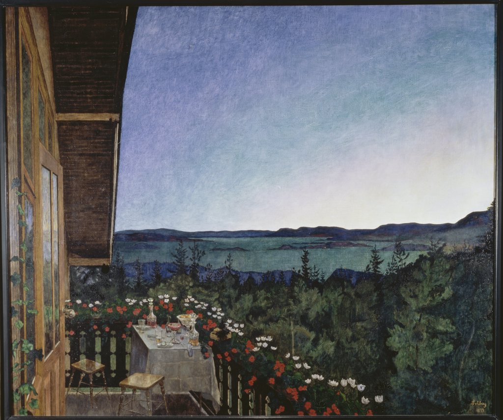 Stock Photo: 475-995 Summer Night 