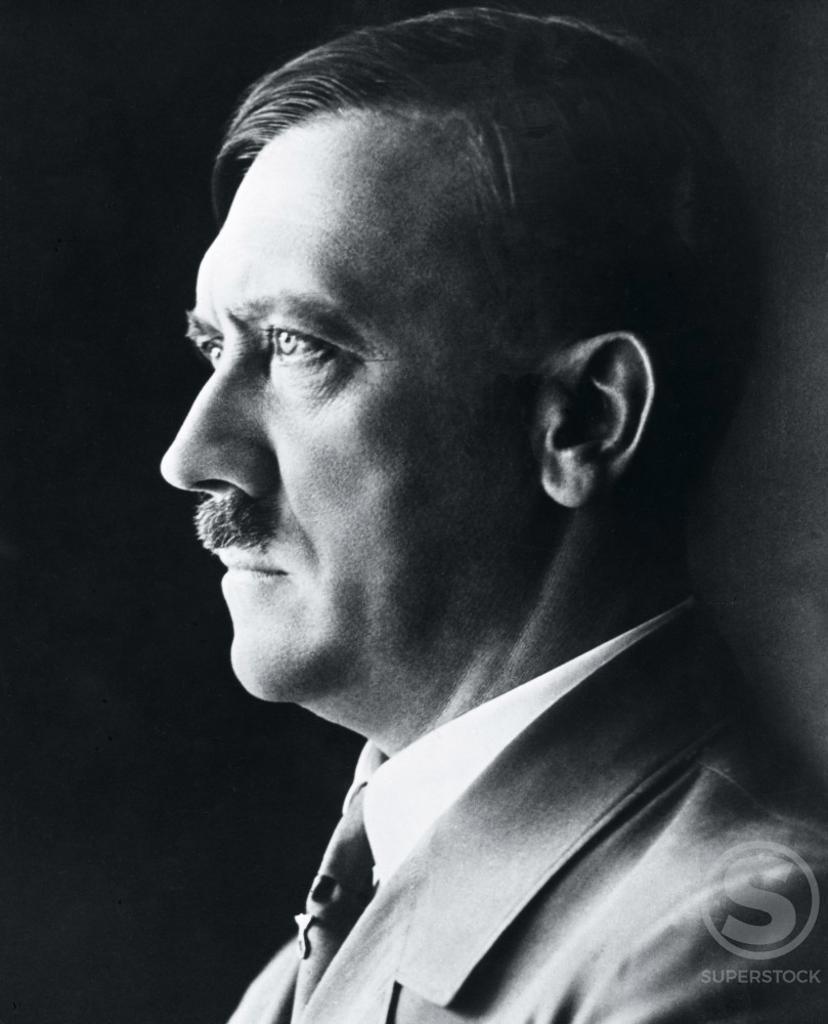 Stock Photo: 486-290 Adolf Hitler (1889-1945) German Dictator