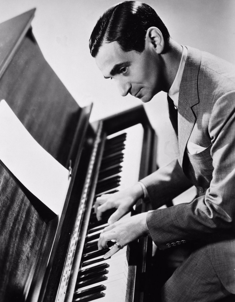 Stock Photo: 486-322 Irving Berlin (1888-1989), American Composer