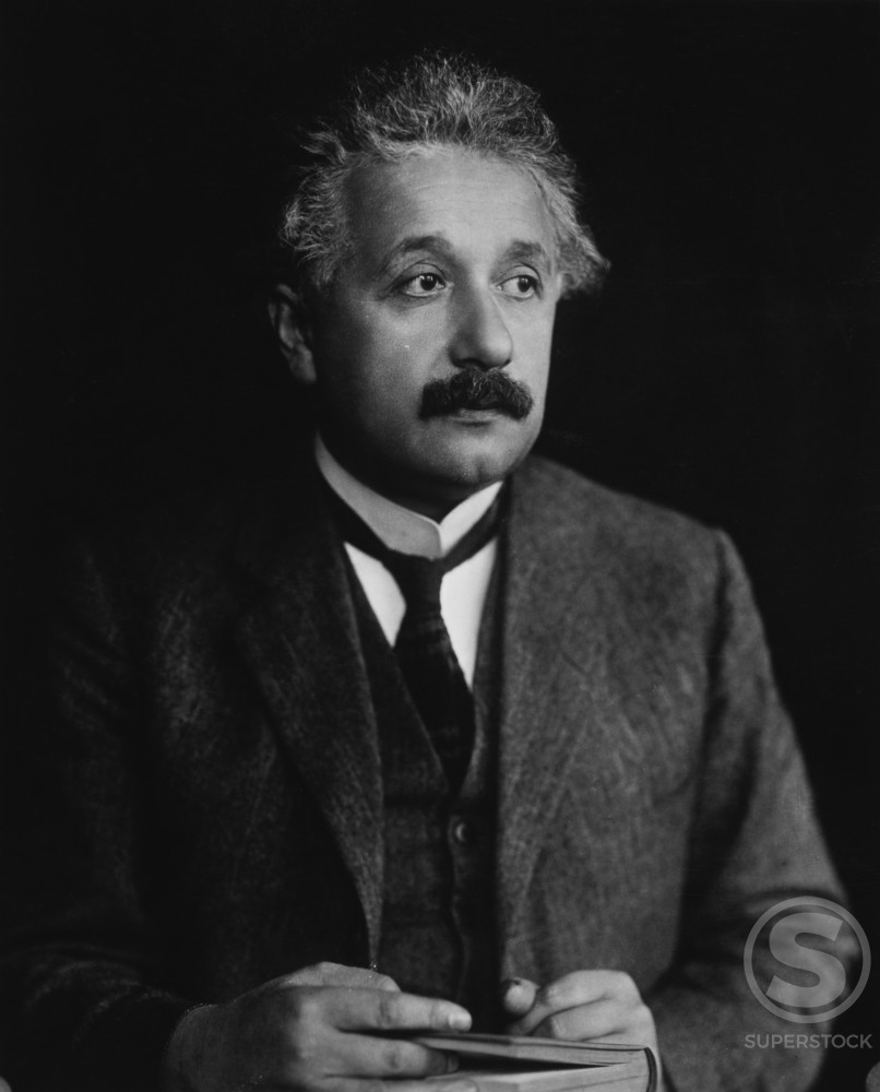 Stock Photo: 486-334 Albert Einstein, (1879-1955), Physicist