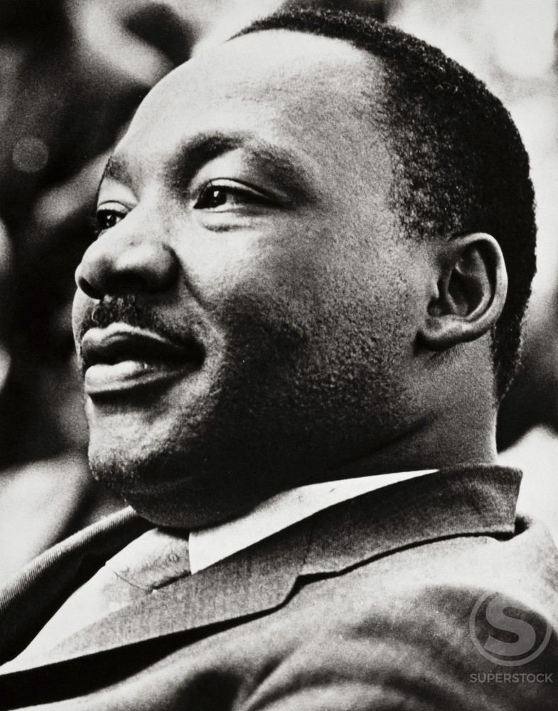 Stock Photo: 486-346 Dr. Martin Luther King, Jr., 1929-1968, American Civil Rights Leader