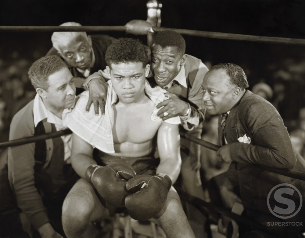 Stock Photo: 486-350 Joe Louis