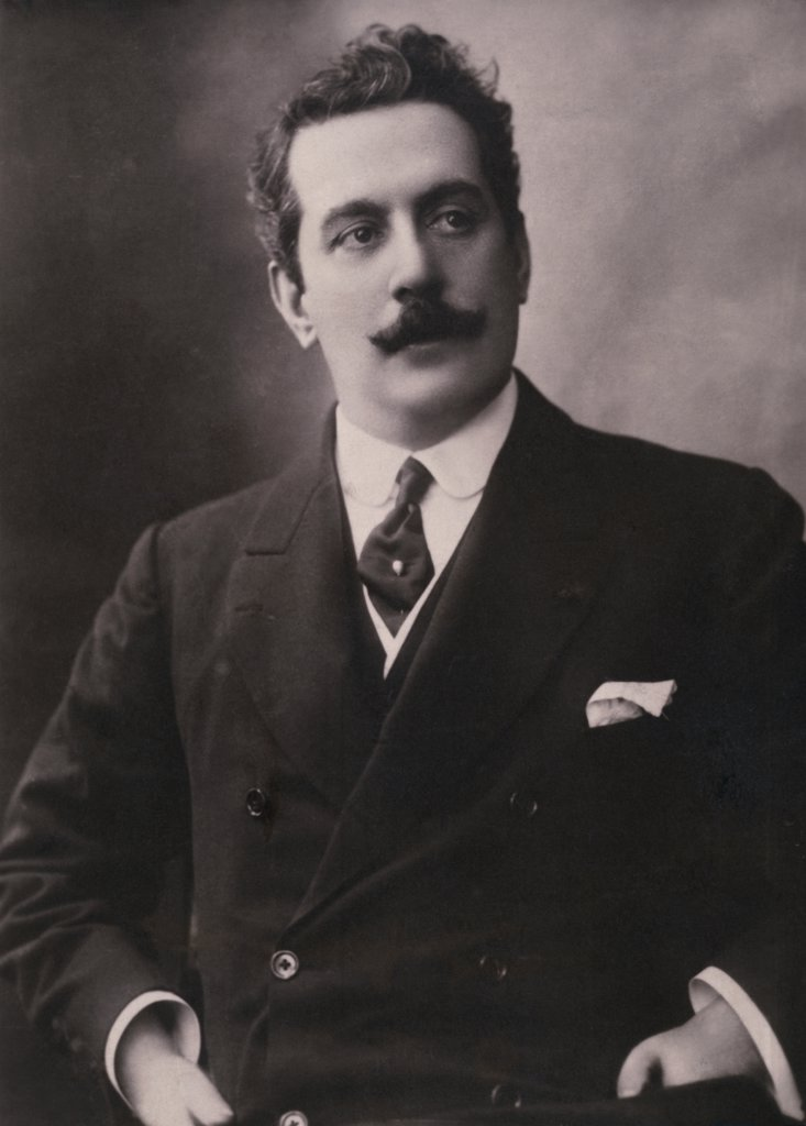 Stock Photo: 486-357 Giacomo Puccini