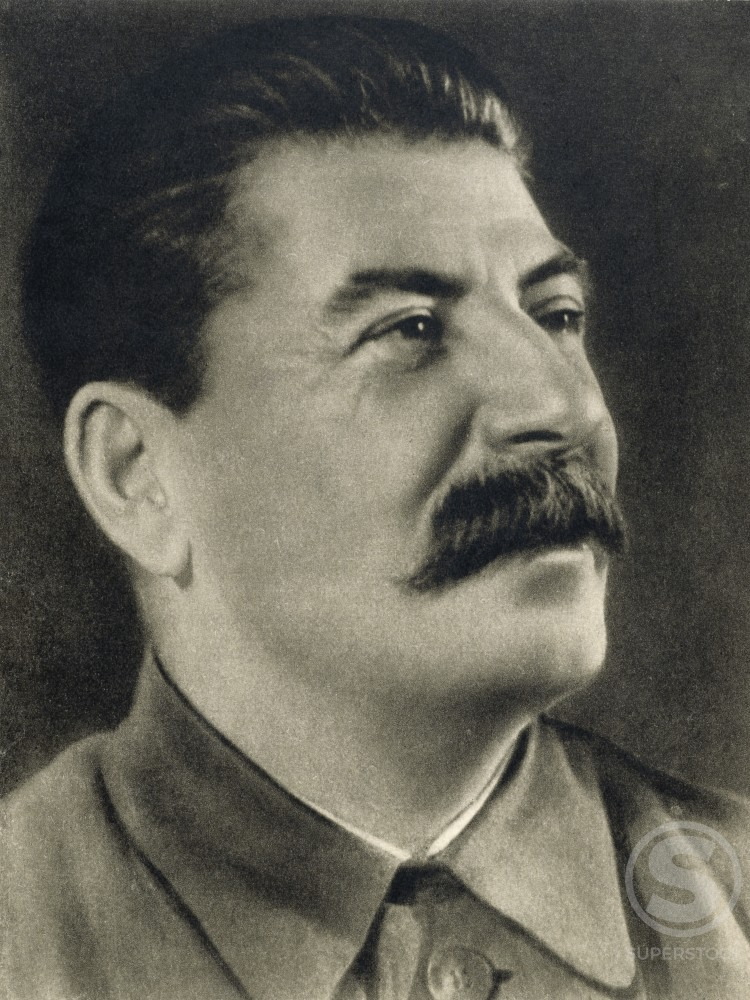 Stock Photo: 486-363 Joseph Stalin, 1879-1953, Soviet Politician and Dictator of U.S.S.R.