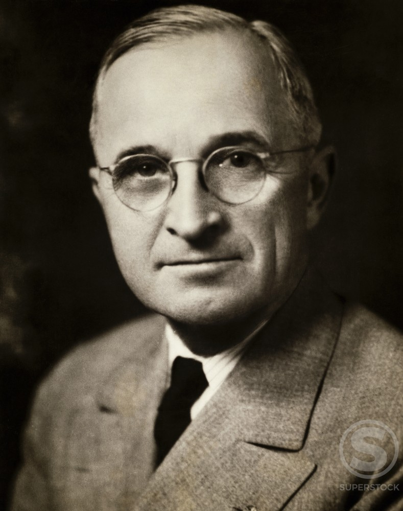 Stock Photo: 486-370 Harry S. Truman