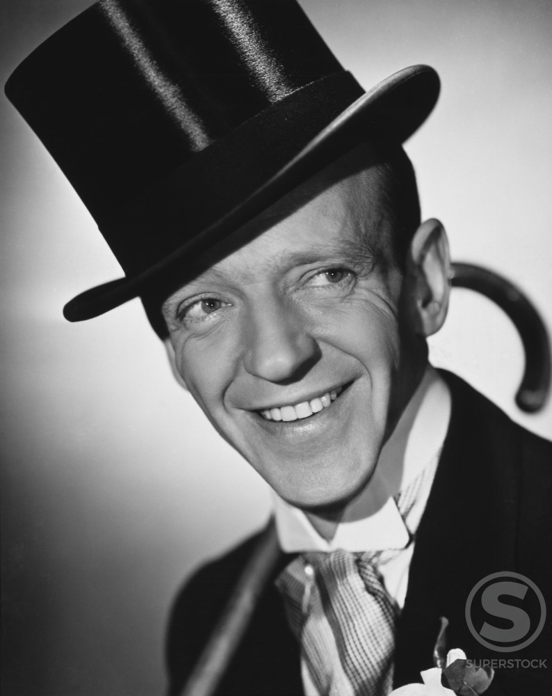 Stock Photo: 486-374 Fred Astaire, Actor and Dancer, (1899-1987)