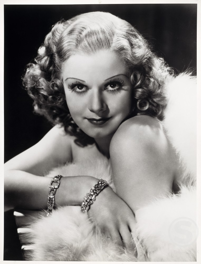 Stock Photo: 486-392 Jean Harlow, Actress, (1911-1937)
