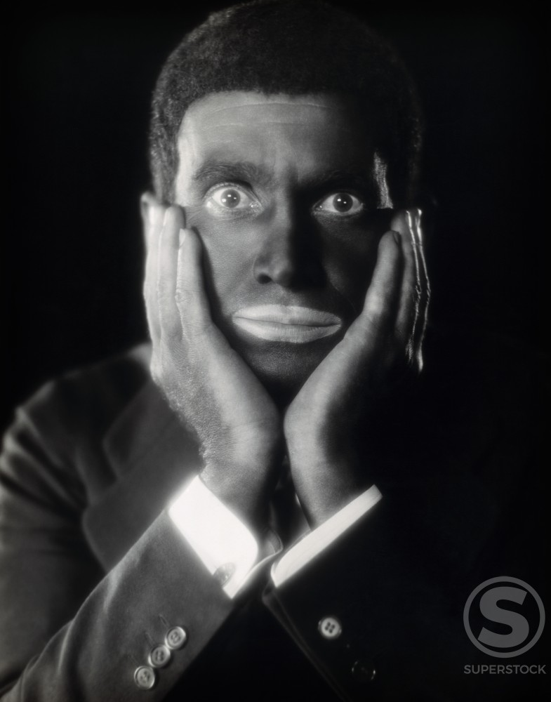 Stock Photo: 486-394 Al Jolson, Actor/Singer, (1886-1950)