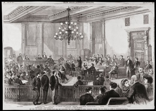 Stock Photo: 486-509 Daniel McFarland Murder Trial