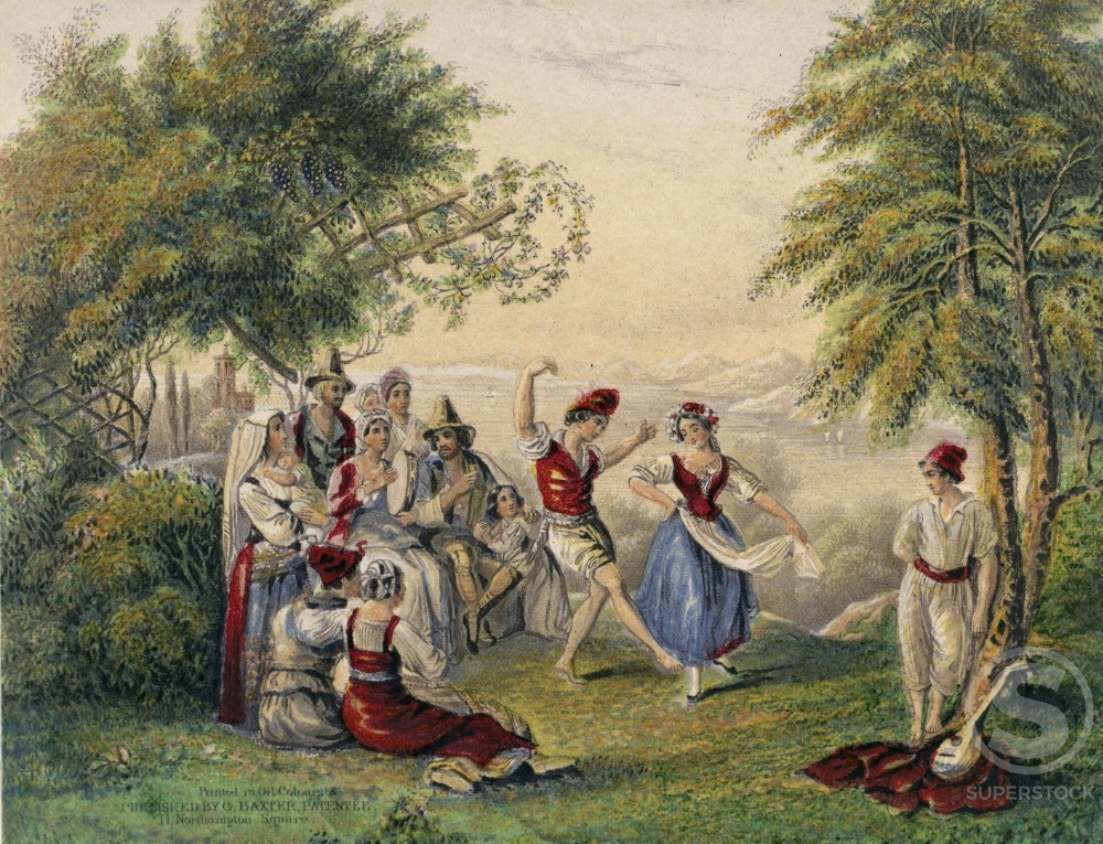Tarantella Dance