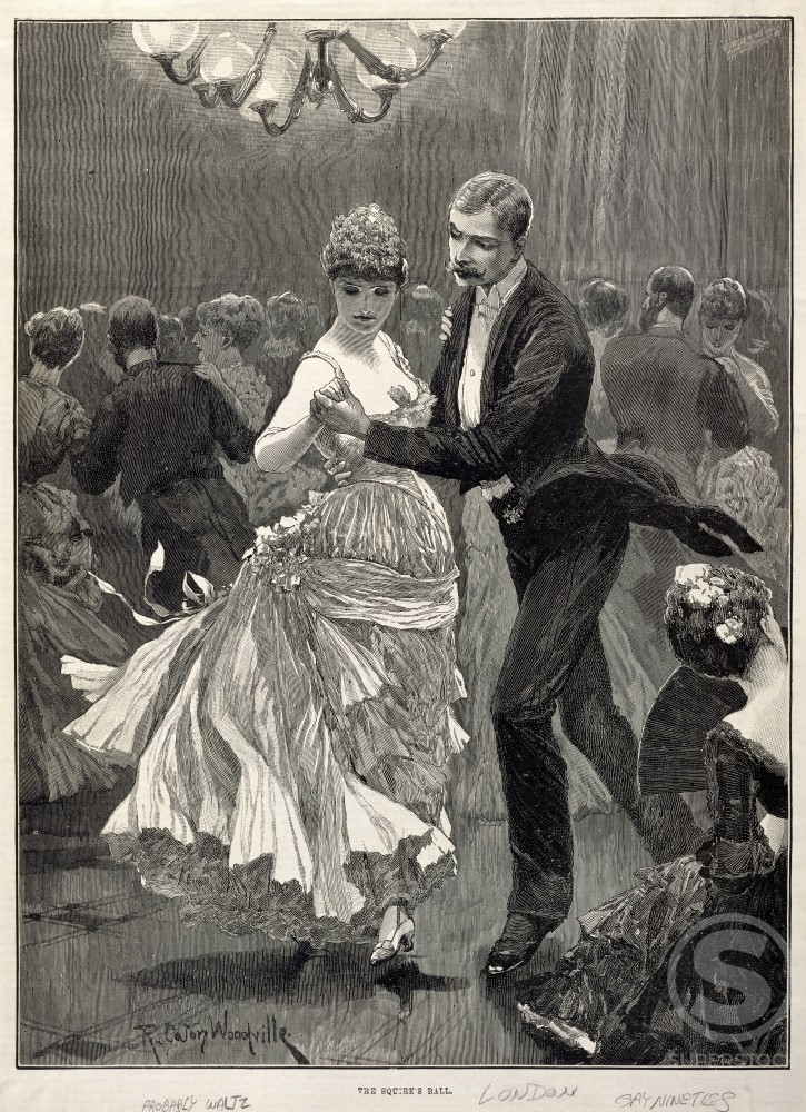 Stock Photo: 486-517 Squire's Ball, London, England