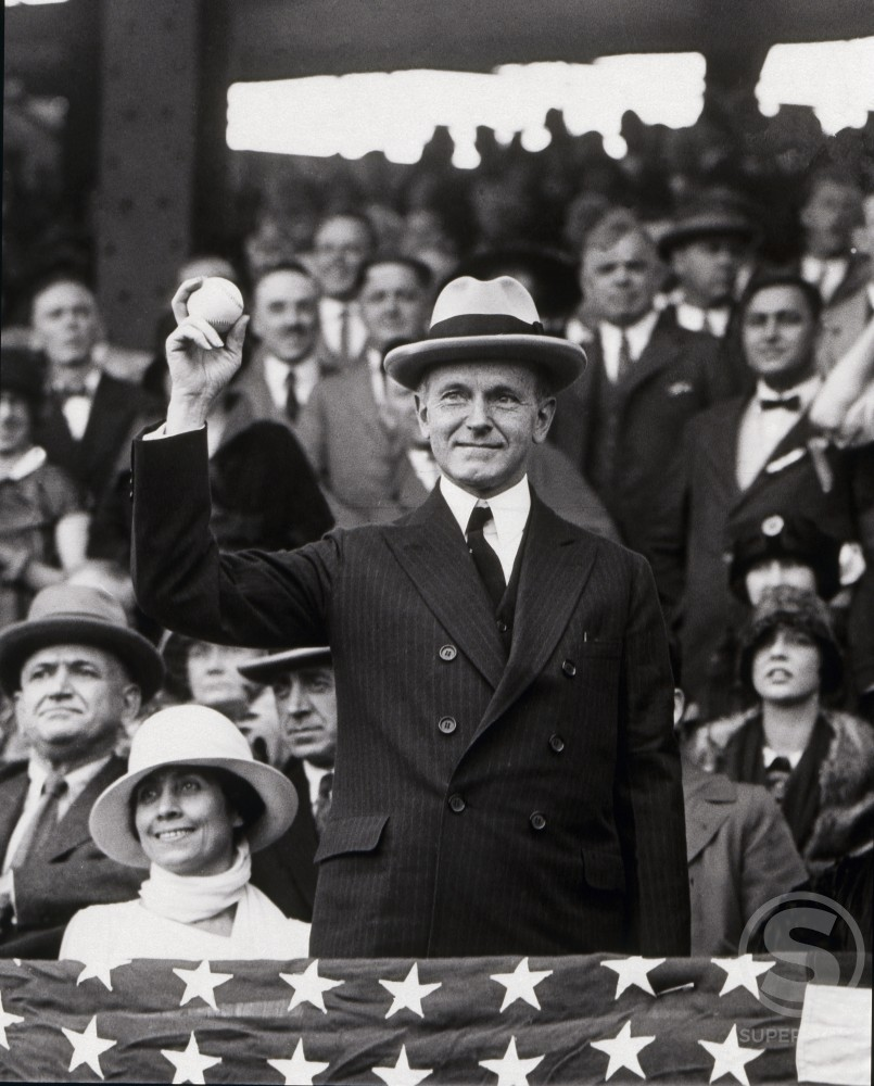 Stock Photo: 486-641 President Calvin Coolidge