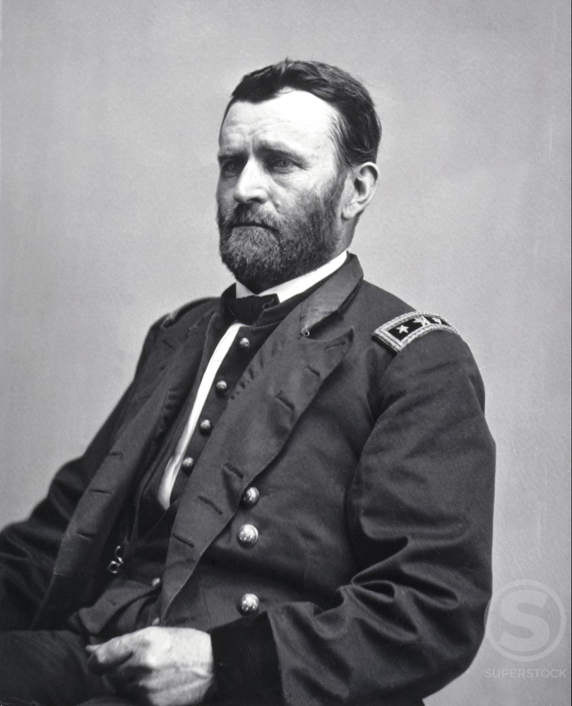 Stock Photo: 486-644 Ulysses S. Grant