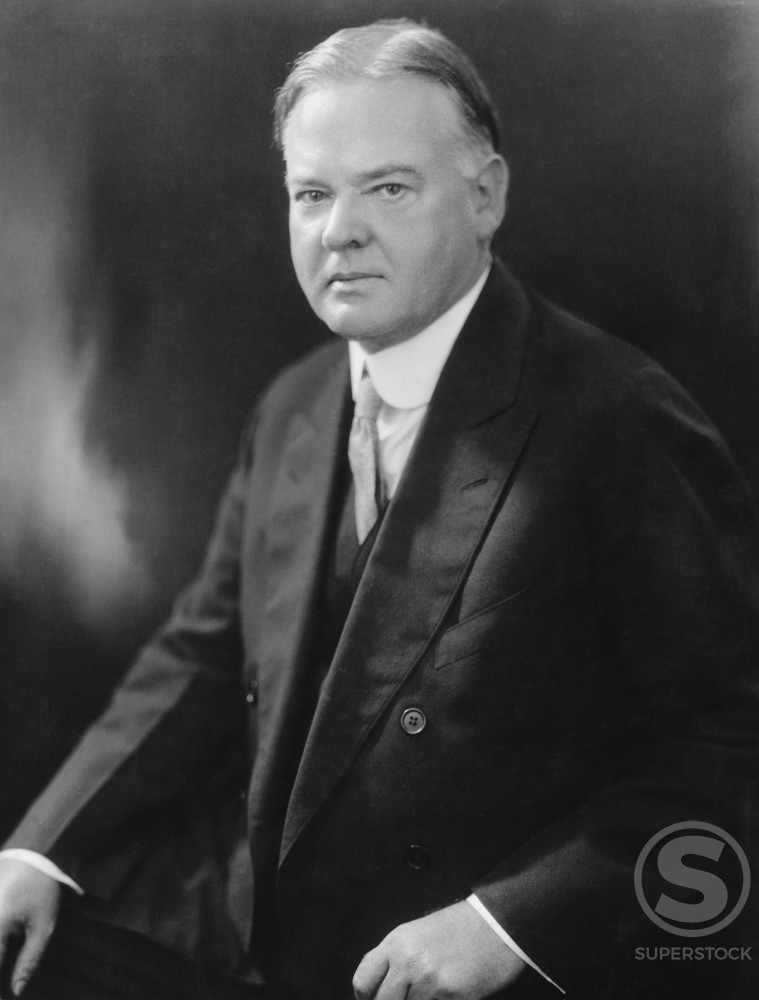 Stock Photo: 486-646 Herbert  Hoover