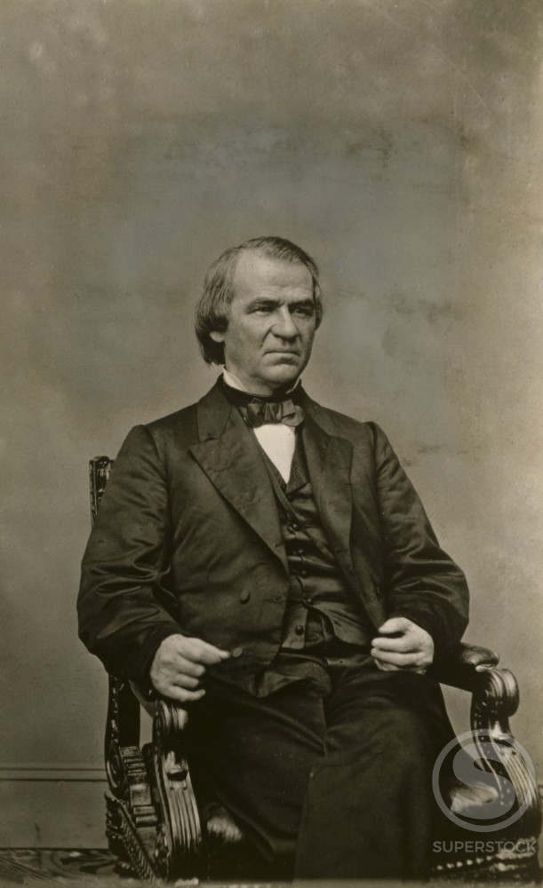 Stock Photo: 486-649 Andrew Johnson