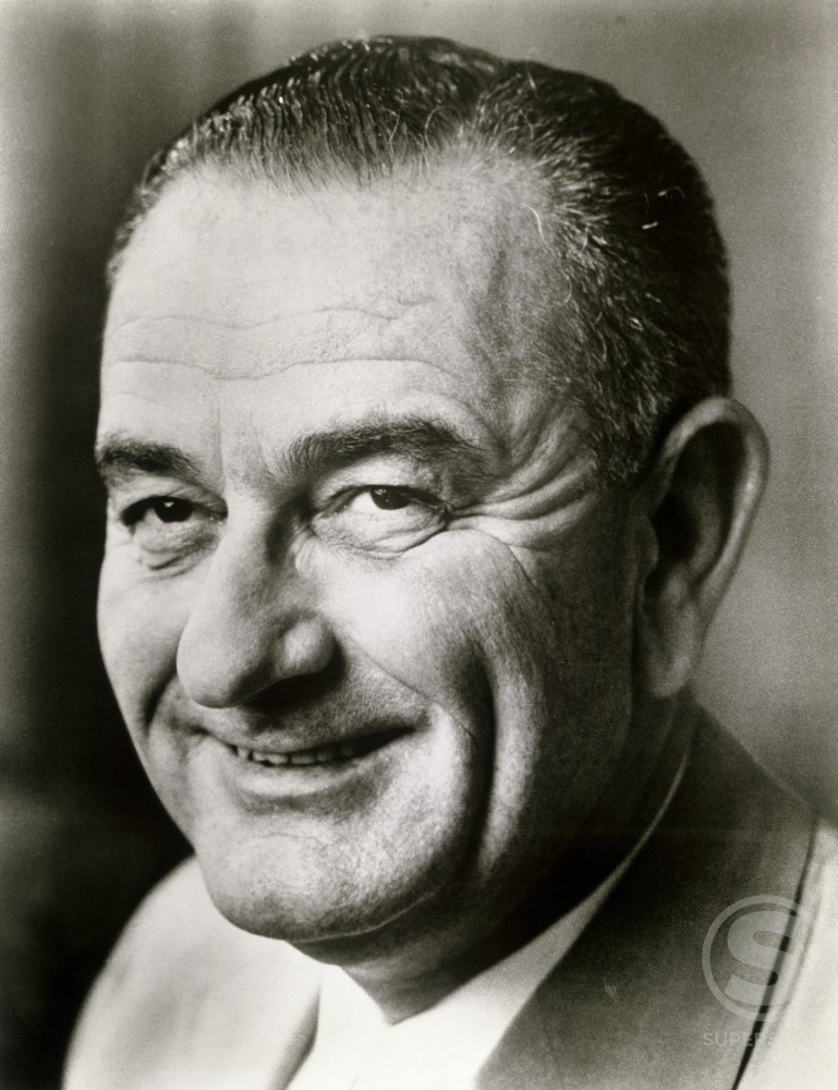 Stock Photo: 486-650 Lyndon Baines Johnson
