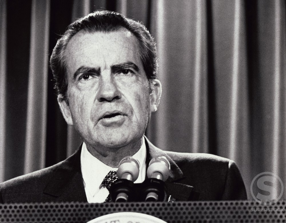 Stock Photo: 486-658 Richard Milhous Nixon