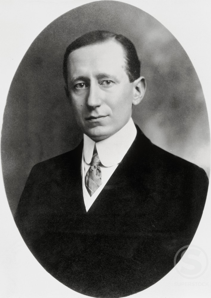Stock Photo: 486-693 Guglielmo Marconi