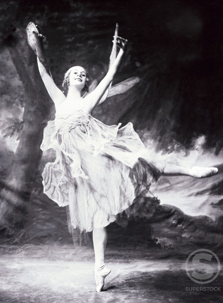Stock Photo: 486-698 Anna Pavlova