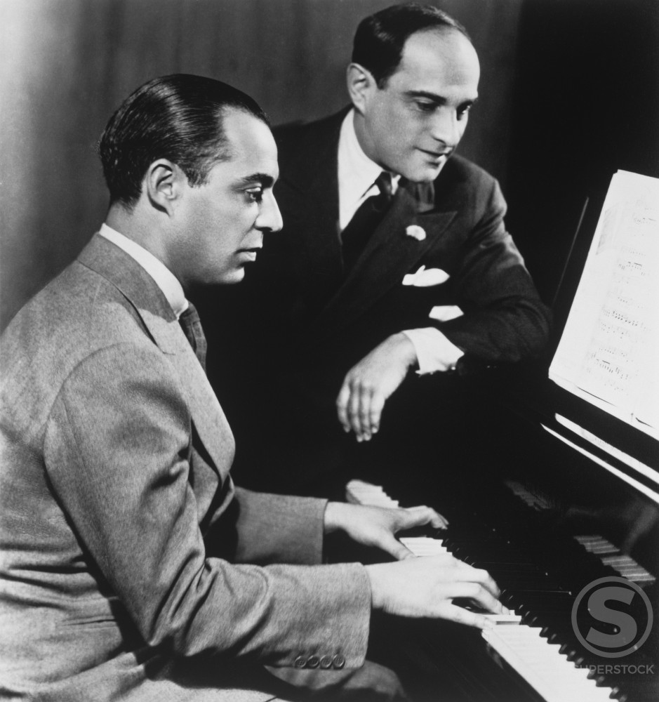 Richard Rodgers 1902-1979, Composer, Lorenz Hart 1895-1943, Lyricist : Stock Photo