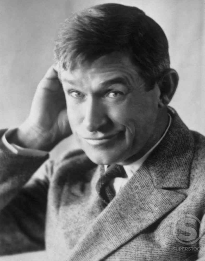 Stock Photo: 486-702 Will Rogers, Actor and Humorist (1879-1935)