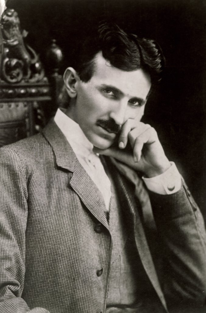 Stock Photo: 486-703 Nikola Tesla