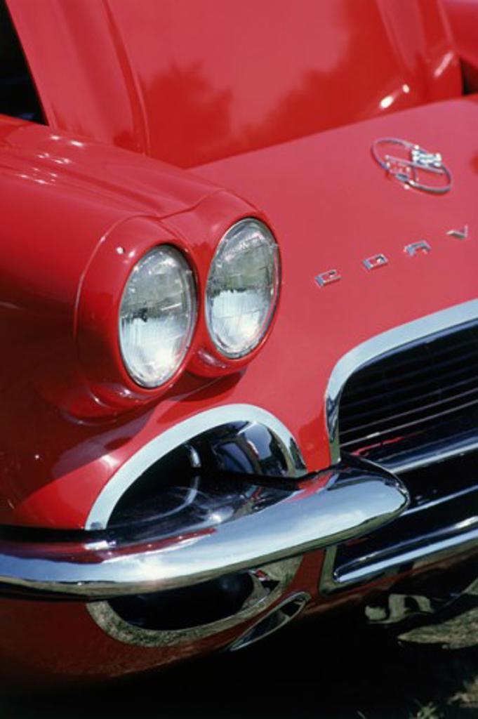 Stock Photo: 49-727A 1958 Corvette
