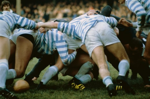Stock Photo: 490-644 Rugby