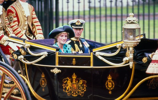 Stock Photo: 491-100 Prince Charles and Princess Diana