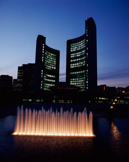 Stock Photo: 491-11477 City Hall & Nathan Phillips Square, Toronto, Canada