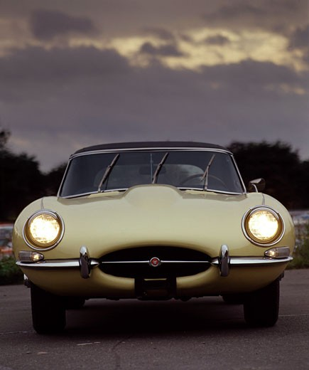 "Stock Photo: 491-12286 1967 Jaguar ""E"" Type Roadster"