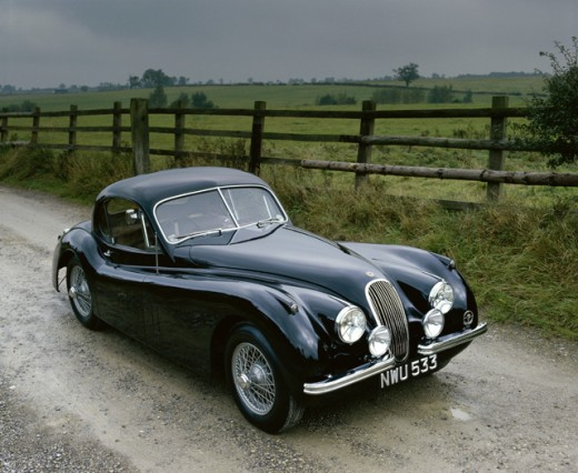 Stock Photo: 491-13942 Jaguar XK 120