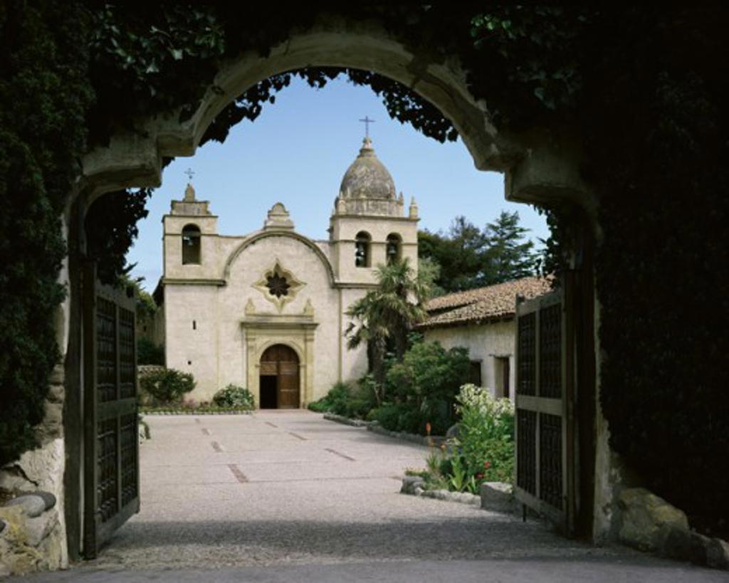 Mission San Carlos Borromeo de Carmelo Carmel California USA : Stock Photo