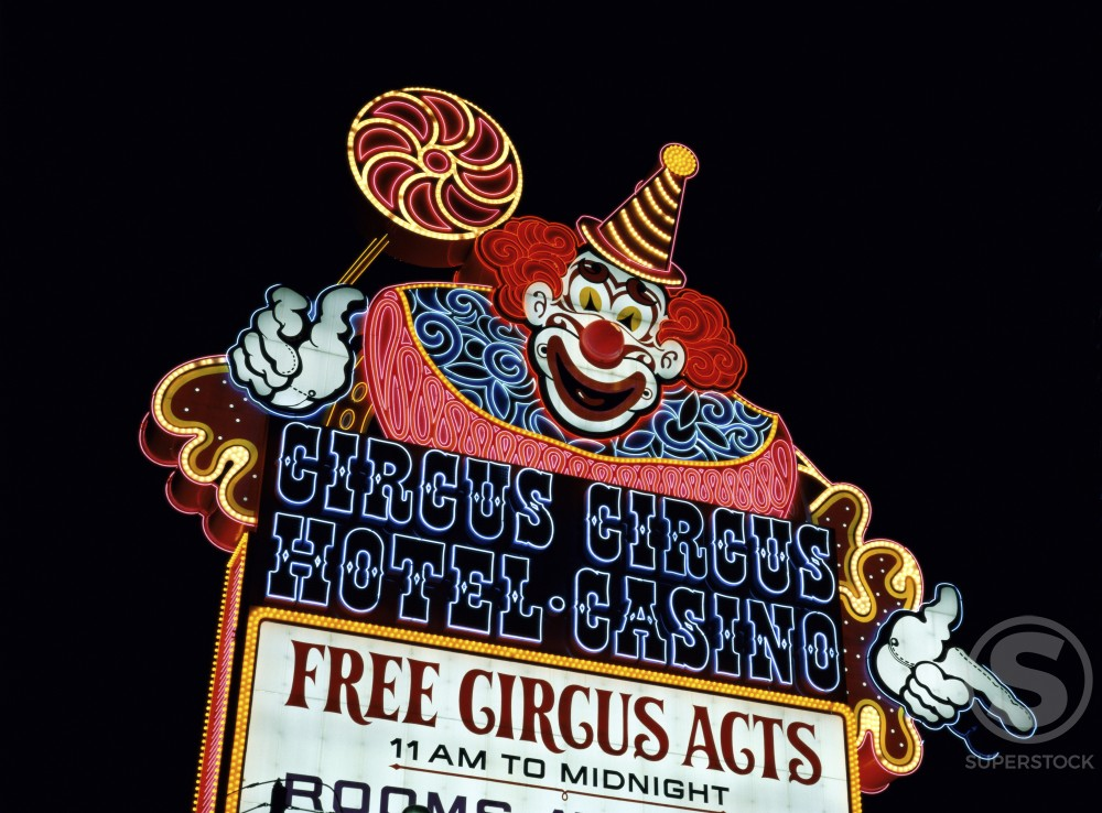 Stock Photo: 491-3685 Circus Circus Hotel and Casino