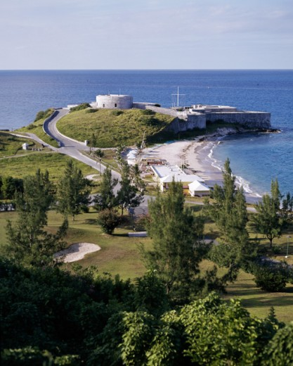 Stock Photo: 491-4305 Fort St. Catherine