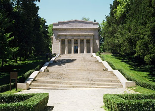Stock Photo: 491-4827 Abraham Lincoln Birthplace National Historic Site