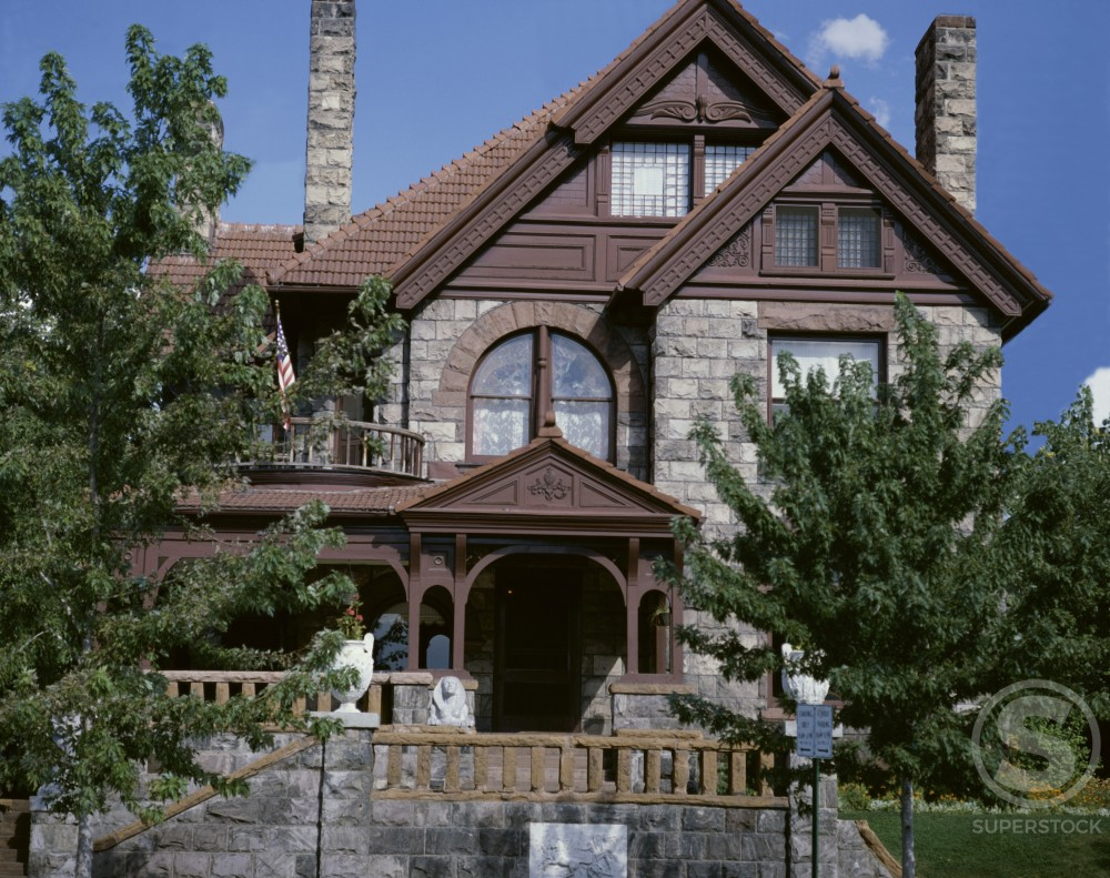 Stock Photo: 491-5679 Molly Brown House Musem