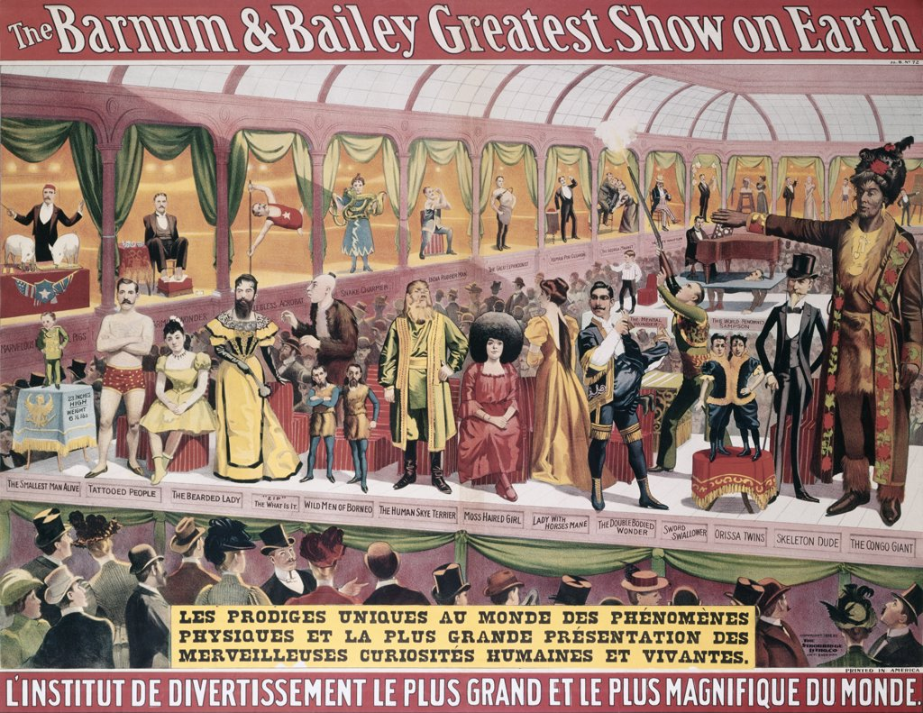 Barnum & Bailey Greatest Show on Earth Posters : Stock Photo