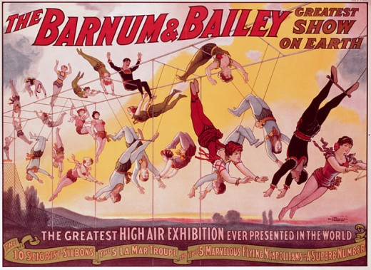 Stock Photo: 500-132010 Barnum & Bailey 