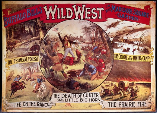 Buffalo Bill's Wild West at the Madison Square Garden 