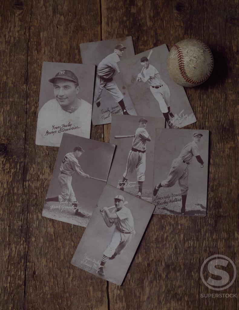 Stock Photo: 500-139449 Baseball Playing Cards
