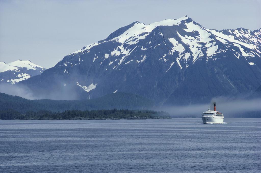 Stock Photo: 53-103 Baranof Island  Sitka Alaska USA