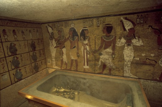 Stock Photo: 53-2285 Tomb of King Tutankhamun